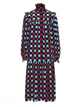Multicolor Dots Dress