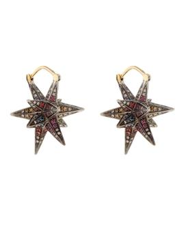 Geometry 101 Merkaba Rainbow Earrings