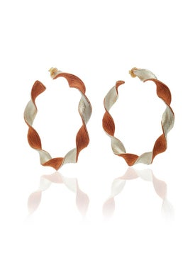 Rebecca De Ravenel - Penelope Hoop - Earrings