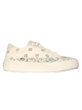V2 bandana print sneakers