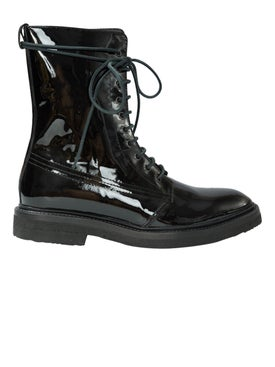 Rhude - Ma-1 Black Patent Boots - Men