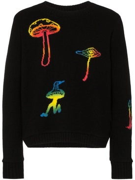 The Elder Statesman - Multicolored Mushroom Sweater - Men