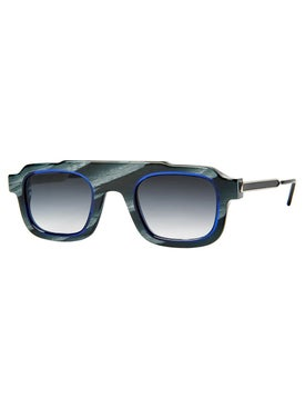 Thierry Lasry - Robbery Black And Blue Sunglasses - Men