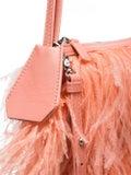 Marques'almeida - Ostrich Feather Shoulder Bag Pink - Women
