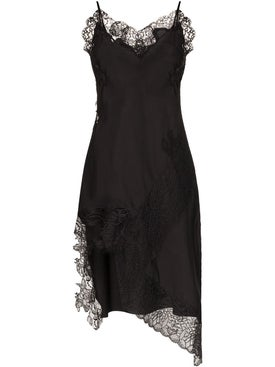 Marques'almeida - Lace Neckline Slip Dress - Women