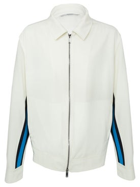 Valentino - Contrasting Side Stripe Jacket White - Men