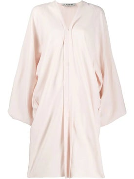 Lanvin - Powder Pink Puff Sleeve Dress - Women