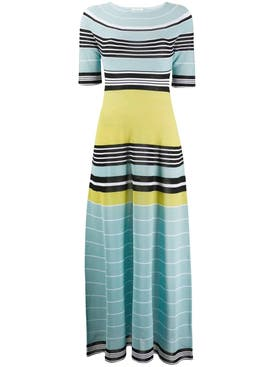 Lanvin - Striped Multicolored Maxi Dress - Women