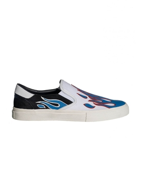 FLAME SLIP ON SNEAKERS BLUE