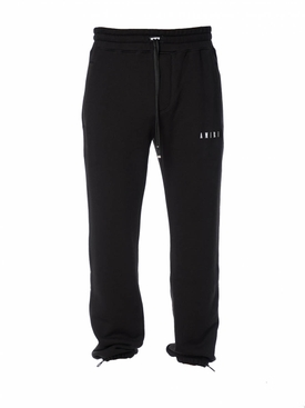 Heart and dagger sweatpants BLACK