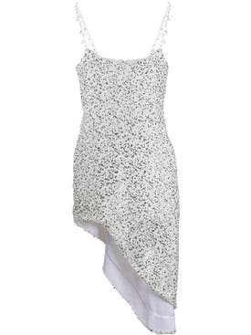 Halpern - Georgette Sequin Dress - Women