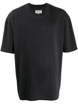 Maison Margiela - Over-sized Crewneck T-shirt Black - Men