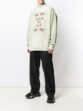 Maison Margiela - Deconstructed Slogan Sweatshirt - Men