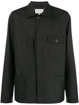 Maison Margiela - Black Multi-pocket Shirt - Men