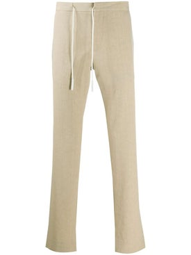 Maison Margiela - Off-center Drawstring Trousers - Men