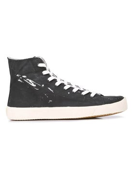 Maison Margiela - Tabi High Top Sneakers Black - Men
