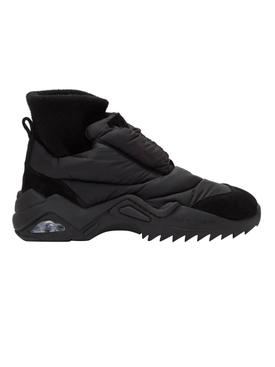 puffer sneakers BLACK