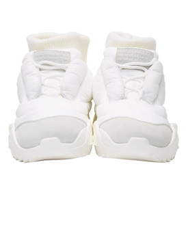 puffer sneakers WHITE