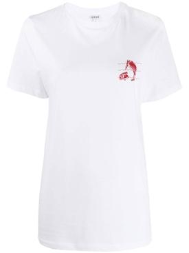 Animal motif t-shirt
