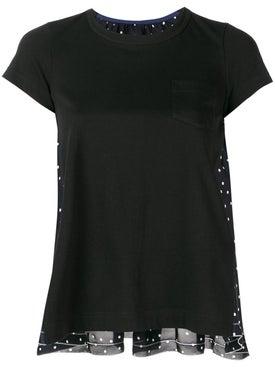 Sacai - Polka Dot T-shirt - Women