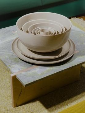 Ceramics Saladier BEIGE