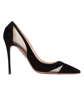 Aquazzura - Suede Savoy Pump - Women