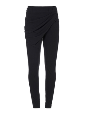 Draped Jersey Trousers