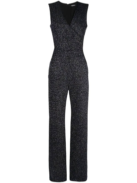flared glittered jumpsuit