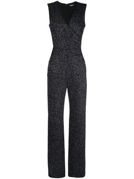 Balmain - Flared Glittered Jumpsuit - Women