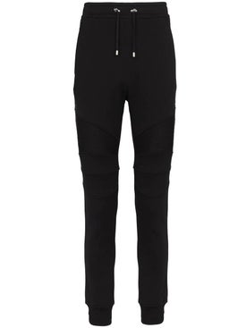 Balmain - Slim-leg Track Trousers - Men