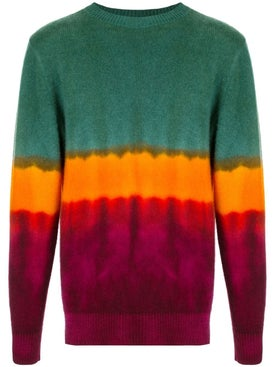 The Elder Statesman - Tie-dye Cashmere Crewneck Jumper - Men