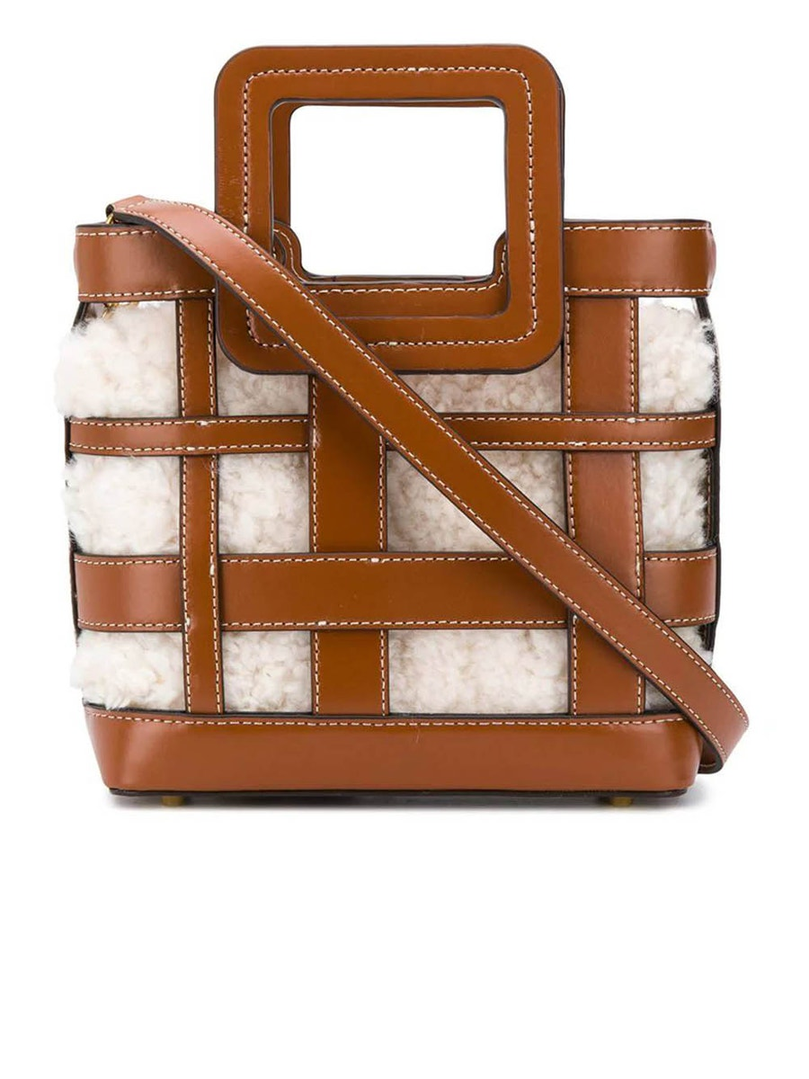 Staud Bags Cut out detail handbag