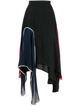 J.w. Anderson - Multicolored Asymmetric Skirt - Women