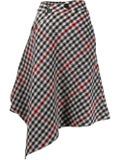 J.w. Anderson - Asymmetric Houndstooth Skirt - Women