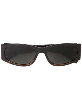 Saint Laurent - Rectangular Tortoiseshell Sunglasses - Women