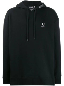 Fred Perry X Raf Simons - Fred Perry X Raf Simons Interior Print Hoodie - Men