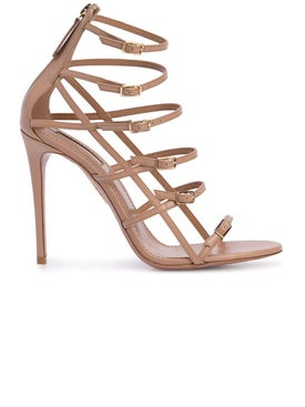 Aquazzura - Super Model Sandals Neutral - Women