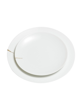 Kintsugi Charentais Large Dinner Plate