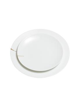 Kintsugi Charentais serving plate