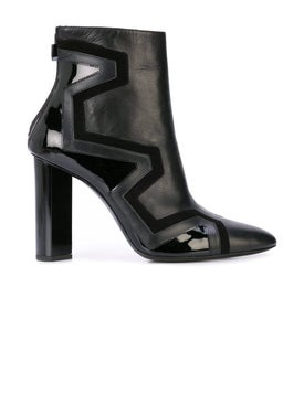 Pierre Hardy - Black Leather Ankle Boots - Women