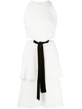 Proenza Schouler - White Cut-out Bow Dress - Women