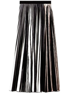 Proenza Schouler - Foil Pleated Maxi Skirt - Women