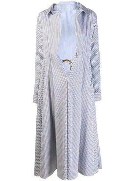 Marni - Nougat Illusion Shirt Coat - Long