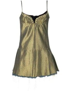 Marques'almeida - Eyelet Detail Mini Dress - Women