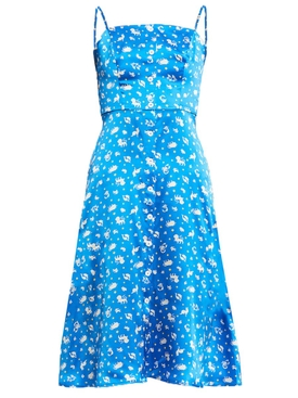 Atlanta Button Front Dress, Turquoise Zodiac
