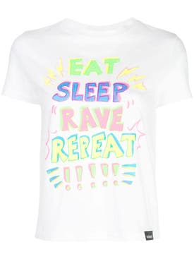 Vetements - Eat, Sleep, Rave, Repeat T-shirt - Women
