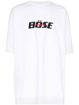 Bose logo t-shirt WHITE