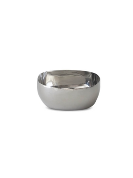Large Square Stainless Steel Bowl SILVER