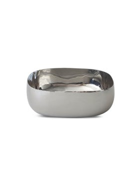 Tina Frey Designs - Extra Large Stainless Steel Salad Bowl Silver - Home