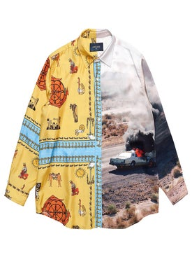 Lost Daze - Double Print Shirt - Men